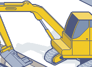 Construction tech catalogue illustration pixel art icon constructor commission